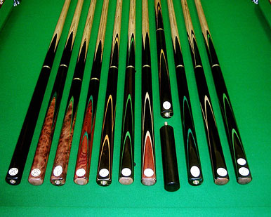 custom snooker cue